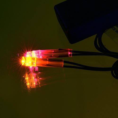 Lichte fuer Krippe: Led-Feuer mit Batterie 2