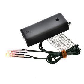 Światła do szopki: Ogień led na baterie s1
