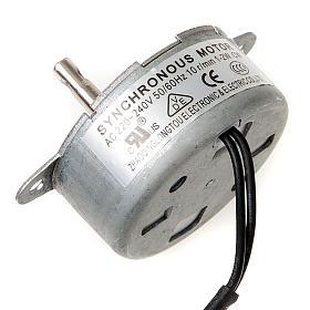 Bomba de agua y motores para movimientos: Motor eléctrico para movimientos para el pesebre 1,2 w.