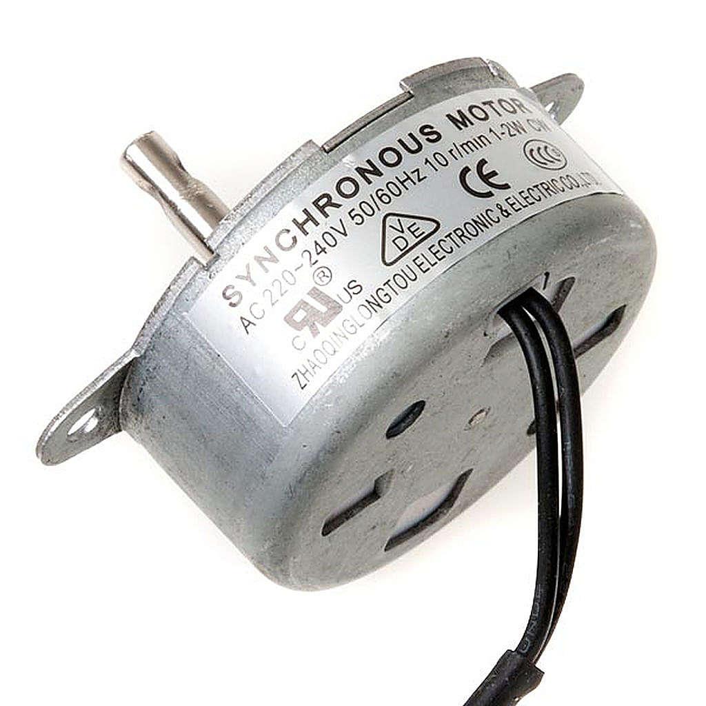 Motorino elettrico per movimenti presepe 1,2 W 10giri/min 4
