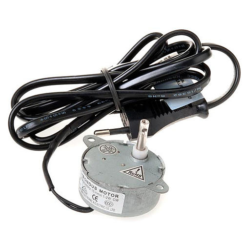 Silniczek elektryczny do mechanicznej szopki 1.2W 10 obr/min 2