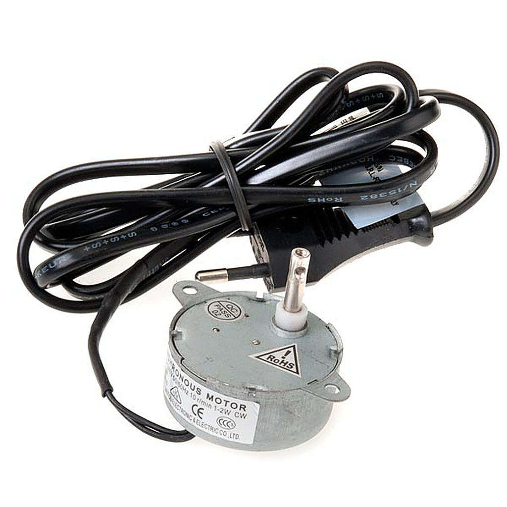 Motor eléctrico para movimentos presépio 1,2W 10 rpm 4