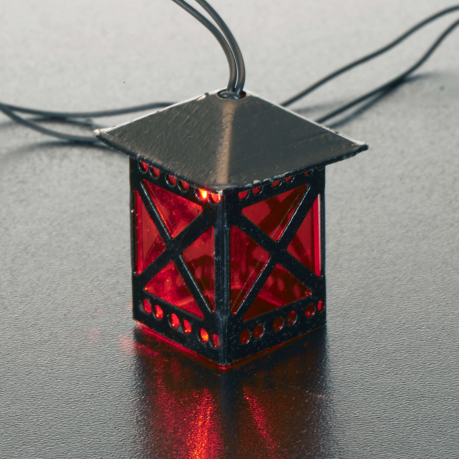 Lanterna presepe luce a batteria 4