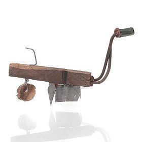 Aratro in legno e metallo per presepe fai da te s1