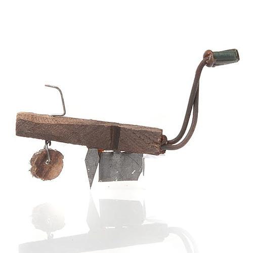 Aratro in legno e metallo per presepe fai da te 1
