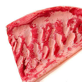 Carne per macelleria set 4 pz. presepe fai da te s2