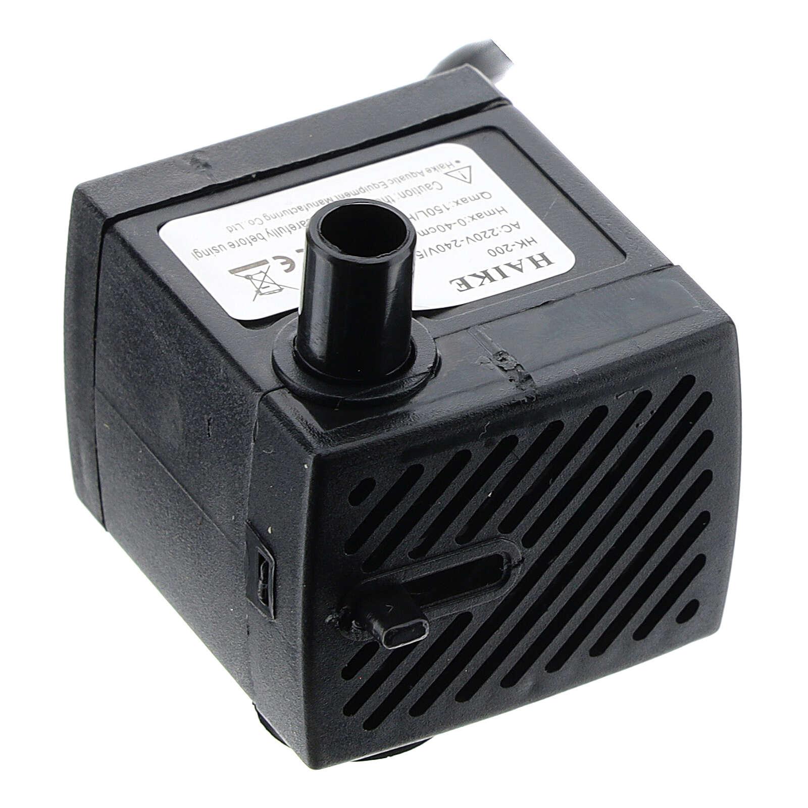 Mini-pompe électrique recyclage eau 3W 4
