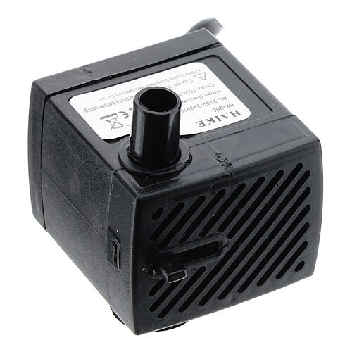 Mini-pompe électrique recyclage eau 3W 1