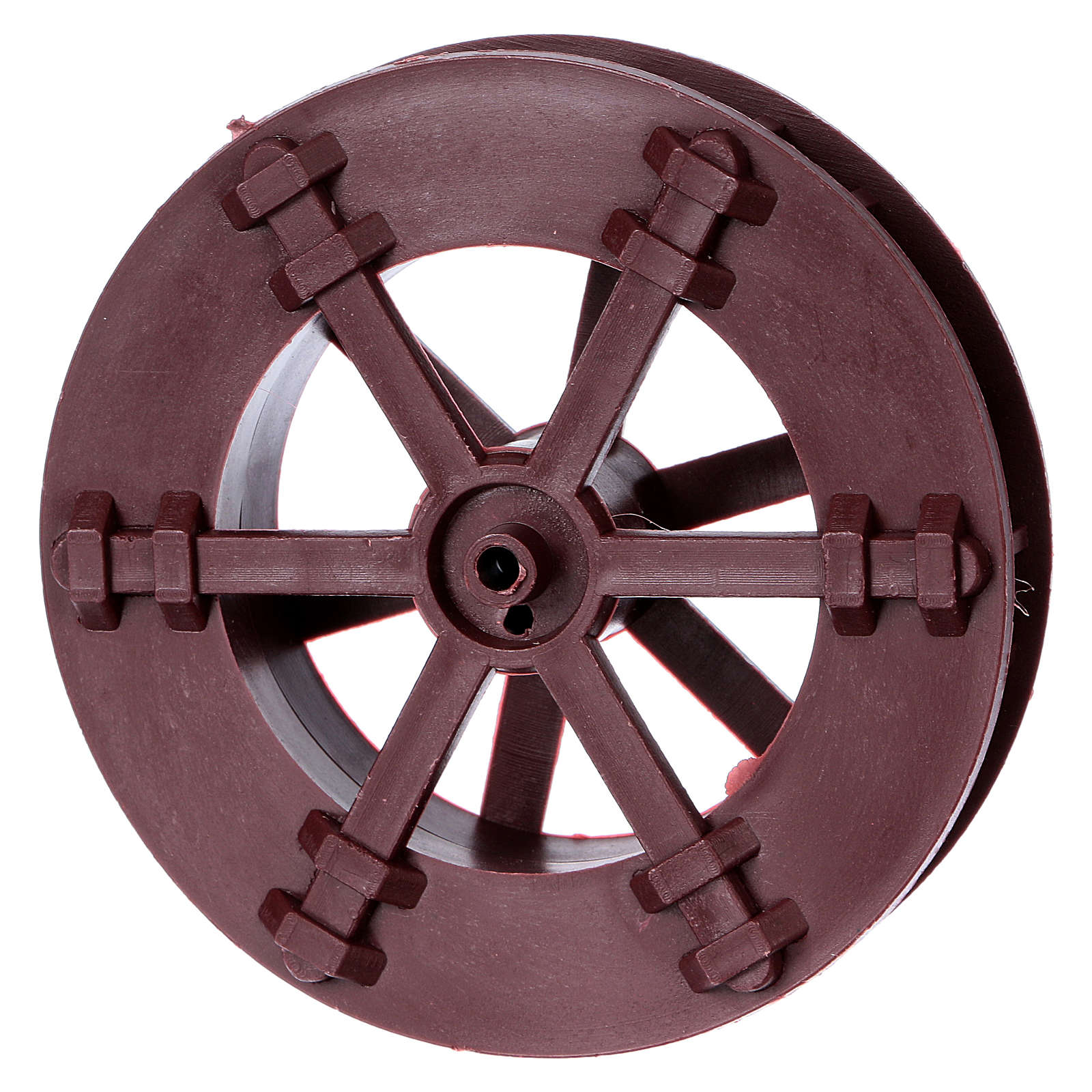 Nativity set accessory, watermill wheel 4