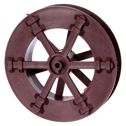 Nativity set accessory, watermill wheel 3