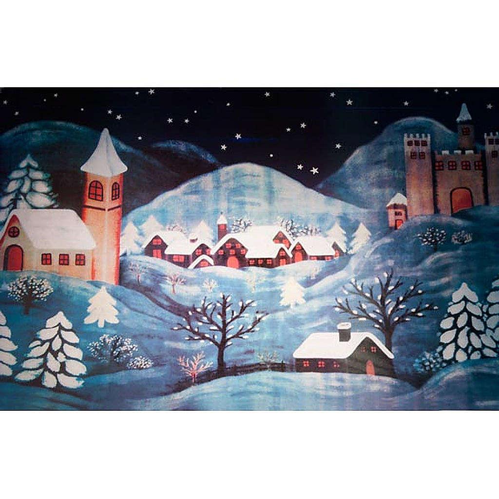 Natrivity set accessory, snowy  landscape 4