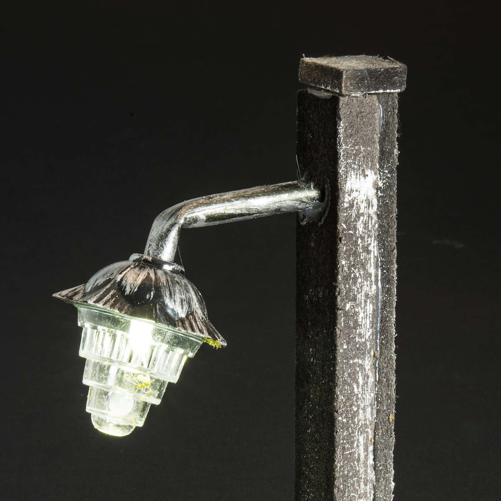 Lampione presepe metallo a batteria 4