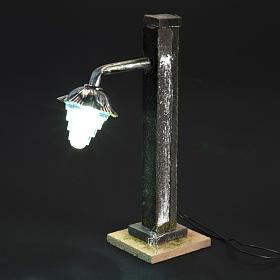 Lampione presepe metallo a batteria s4