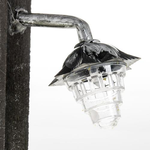 Lampione presepe metallo a batteria 2