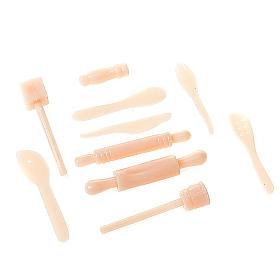 Nativity set accessory, kitchen tools 10pcs s1