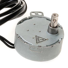 Motorino elettrico per presepe fai da te 4W 10 giri/min s2