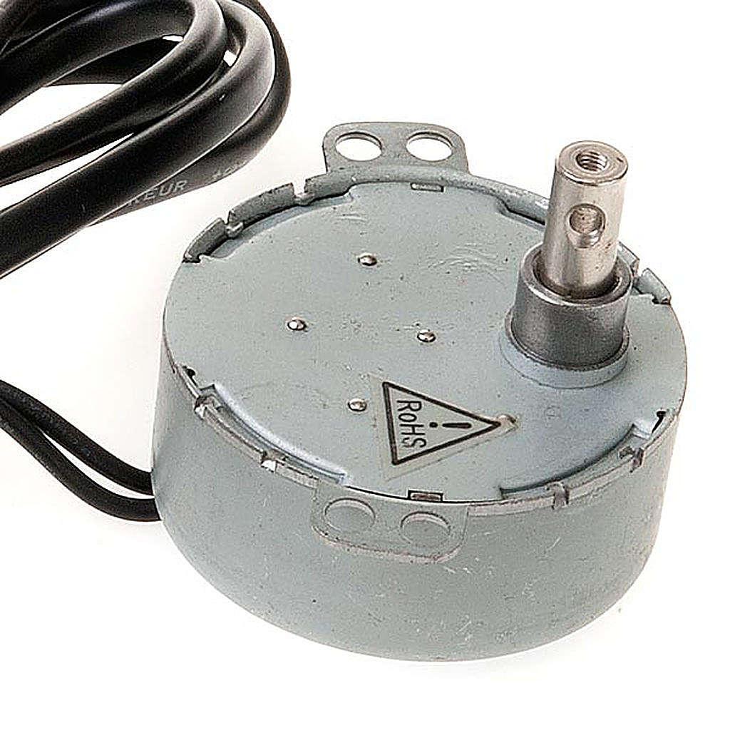 Silniczek elektryczny do szopki zrób to sam 4W 10 obr/min 4