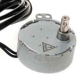 Silniczek elektryczny do szopki zrób to sam 4W 10 obr/min s2