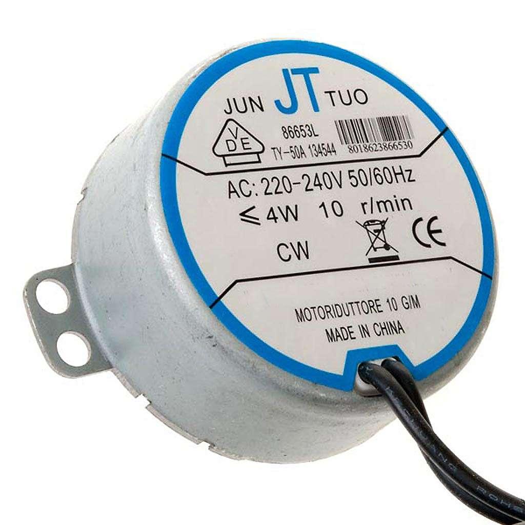 Motor eléctrico para bricolagem presépio 4W 10 rpm 4