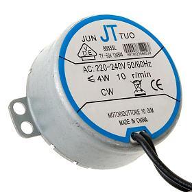 Motor eléctrico para bricolagem presépio 4W 10 rpm s1