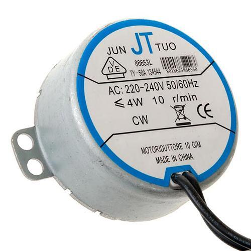 Motor eléctrico para bricolagem presépio 4W 10 rpm 1