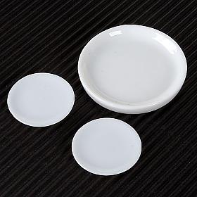 Nativity accessory, porcelain plates, set of 3pcs s2
