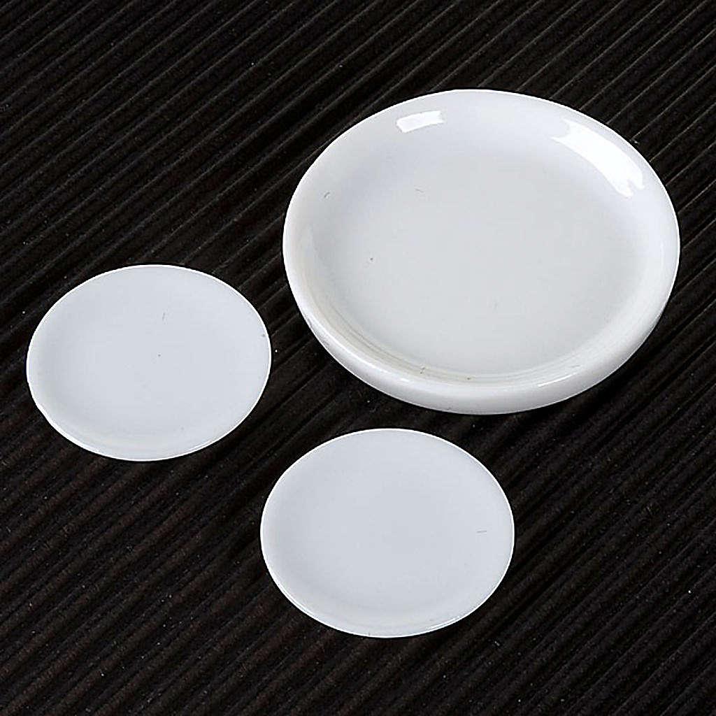 Piatti porcellana per presepe set 3 pz. 4