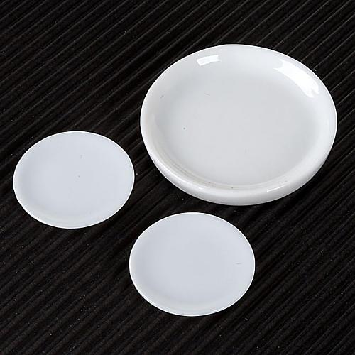 Piatti porcellana per presepe set 3 pz. 2