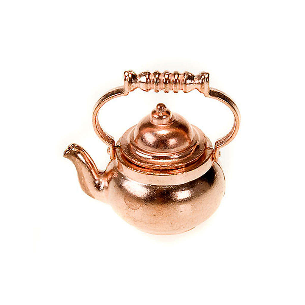 Metal teapot for do-it-yourself nativities 4