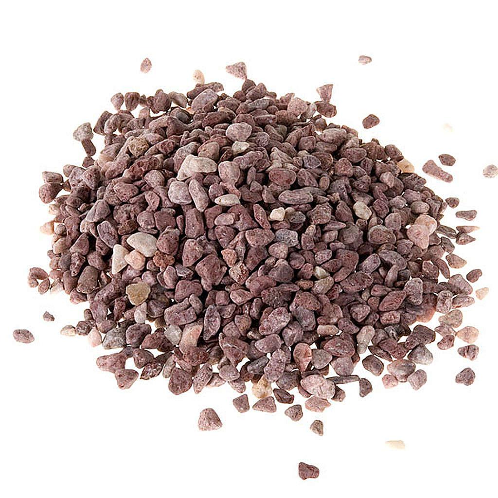 Ghiaia per presepe fai da te grano marrone 4