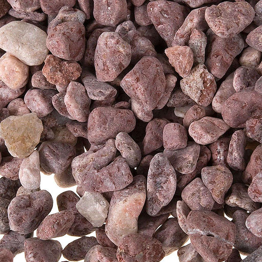 Cascalho para bricolagem presépio pedras castanho 4