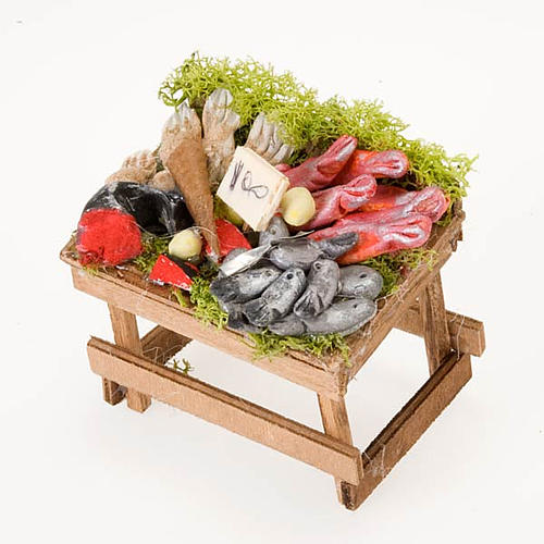 Neapolitan set accessory Fish counter terracotta 2