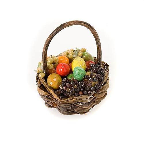 Cesto legno frutta e verdura terracotta 1