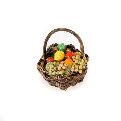 Cesto legno frutta e verdura terracotta 2