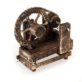Neapolitan set accessory distaff in wood s1