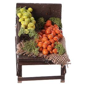 Banchetto legno agrumi terracotta presepe s1