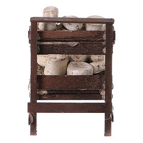 Neapolitan set accessory stand with cheeses terracotta s4