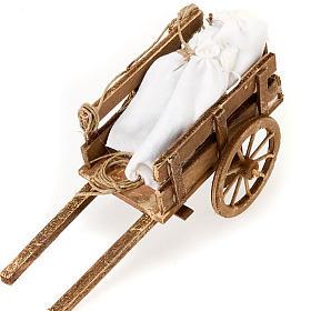 Accessoire crèche chariot avec sacs terre cuite s2