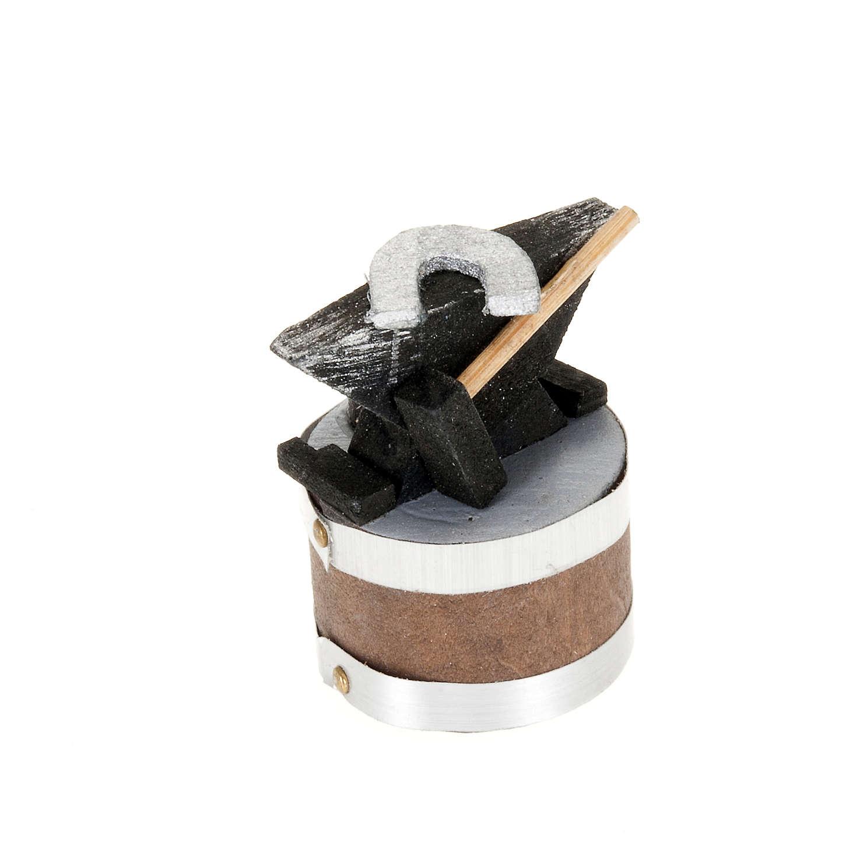 Yunque para pesebre 4x3 cm 4