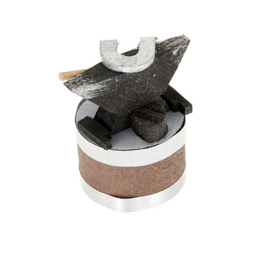 Yunque para pesebre 4x3 cm 2