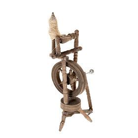 Spinnrad für Krippe 10x5cm s2