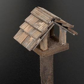 Nativity figurine, birdhouse 10cm s2