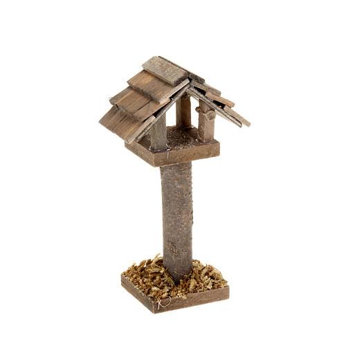 Nativity figurine, birdhouse 10cm 1
