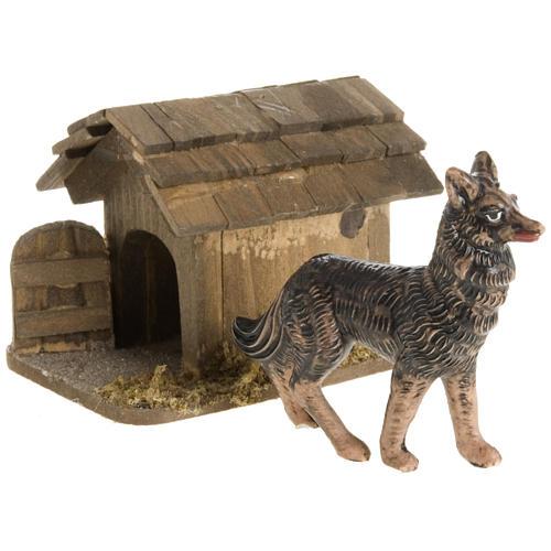Nativity scene figurines, guard dog 10cm 1