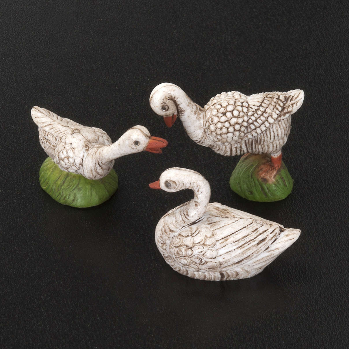 Nativity scene figurines, ducks, 6 pieces 3
