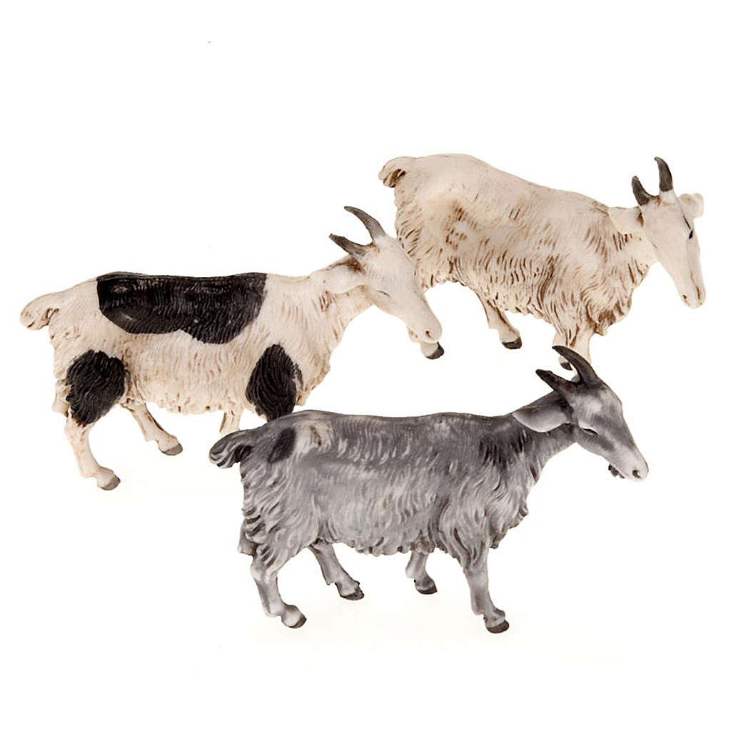 Cabras para belén de 10 cm, 3 pz. 3
