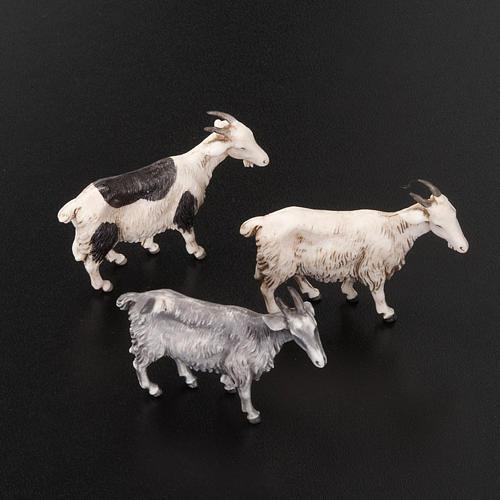 Cabras para belén de 10 cm, 3 pz. 2