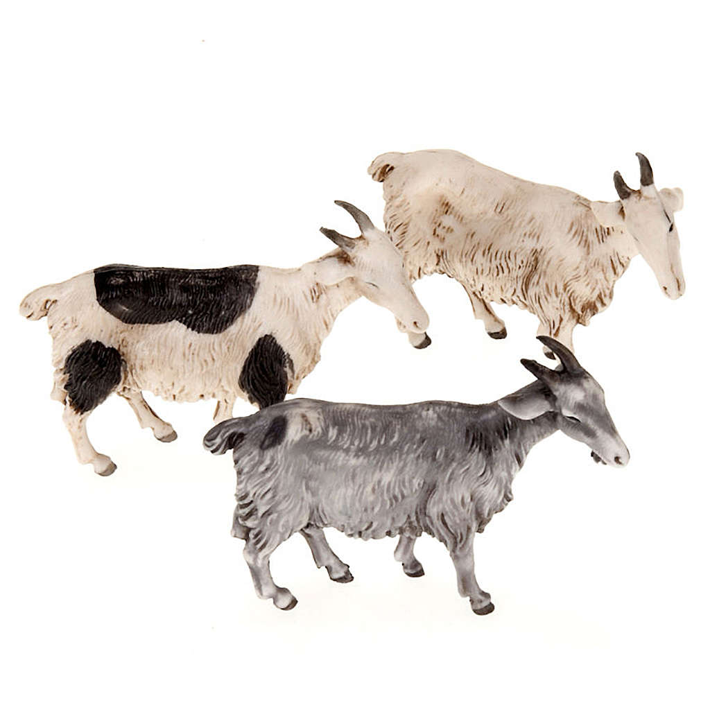 Kozy do szopki 10 cm 3 sztuki 3