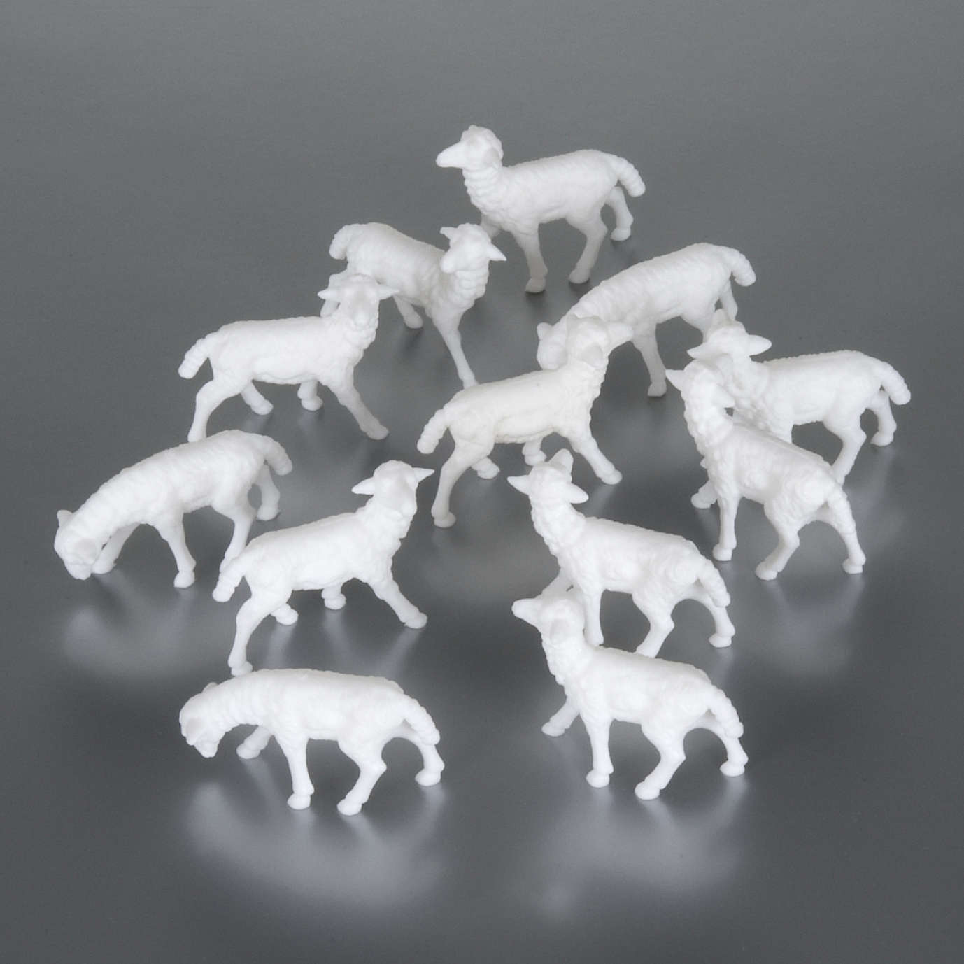 Sheep cm 8-10, 12 pcs set nativity figurines 3