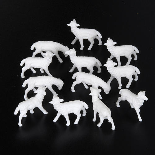 Sheep cm 8-10, 12 pcs set nativity figurines 2